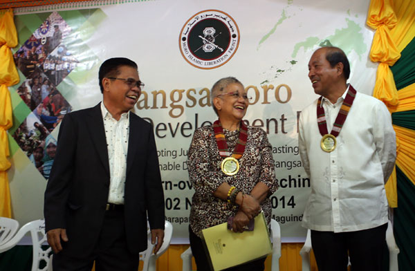 BDP Ceremony Launch, Camp Darapanan, November 2, 2014