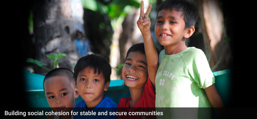 Building social cohesion for stable and secure communities